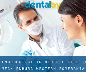 Endodontist in Other Cities in Mecklenburg-Western Pomerania (Mecklenburg-Western Pomerania)